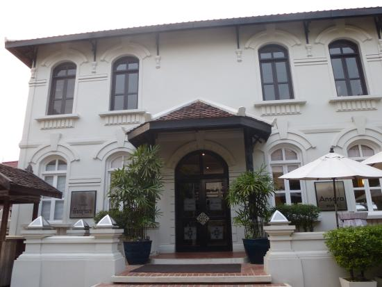 Ansara Hotel: the front of the hotel