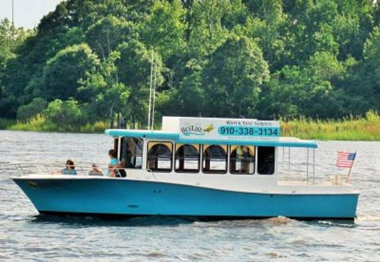 Wilmington Water Tours: The Bizzy Bee Water Taxi
