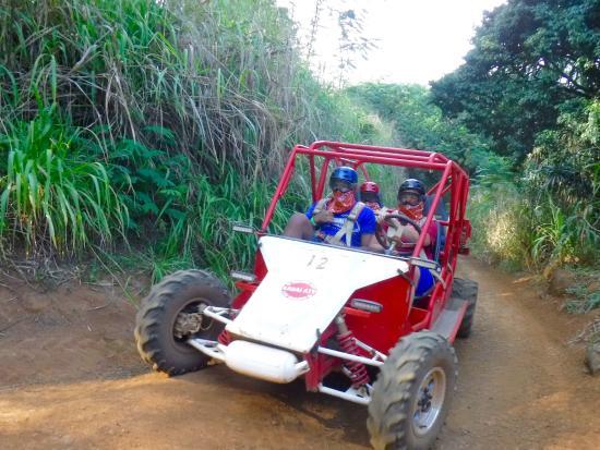 Kalaheo, هاواي: ATV ride