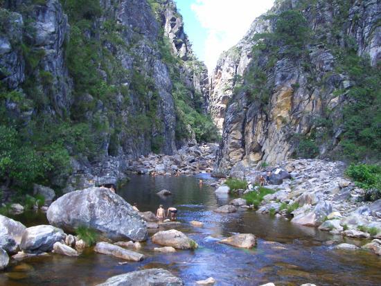 Serra do Cipo, MG: Cânion das Bandeirinhas, fica localizado no Parque Nacional da Serra do Cipó em Minas Gerais.