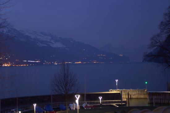 Hotel Restaurant Seehof : Great view from my room over looking the lake.