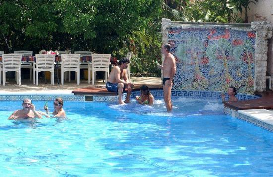 Casa las Palmas Hotel Boutique: vista piscina