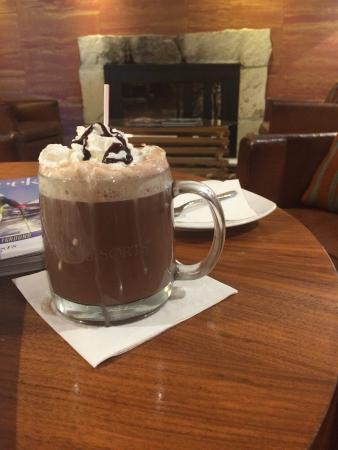 fancy grown up hot chocolate picture of the osprey at beaver rh tripadvisor in