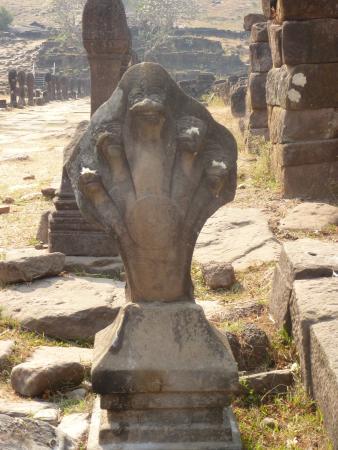 Vat Phou Temple: the temple
