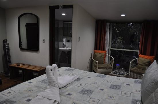 Aranjuez Hotel: Chambre avec vue sur le jardin