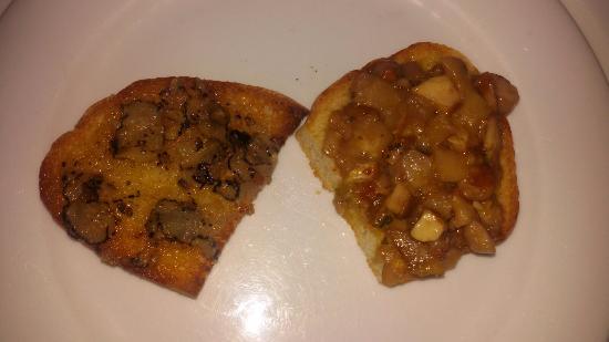 crostini al tartufo