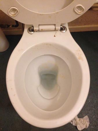 YMCA Bath: Bathroom in the Dining Area (GROSS!!!!!!!)