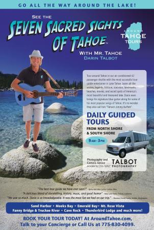 ‪Around Tahoe Tours‬