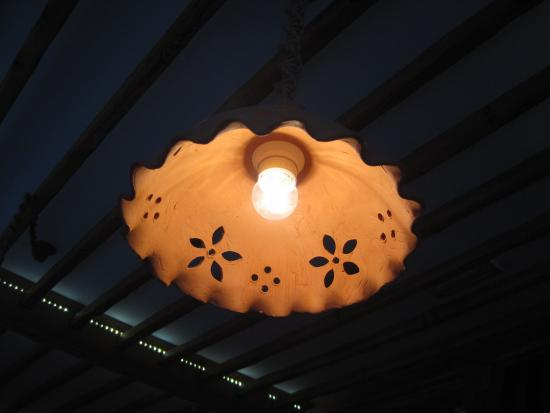 Terracotta lamp shades nice touch picture of strudl bohinjska strudl terracotta lamp shades nice touch aloadofball Image collections