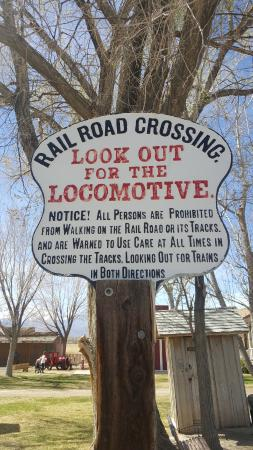 Mind the Gap - Picture of Laws Railroad Museum, Bishop - TripAdvisor