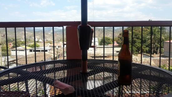 Hotel & Restaurant Guancascos: The view