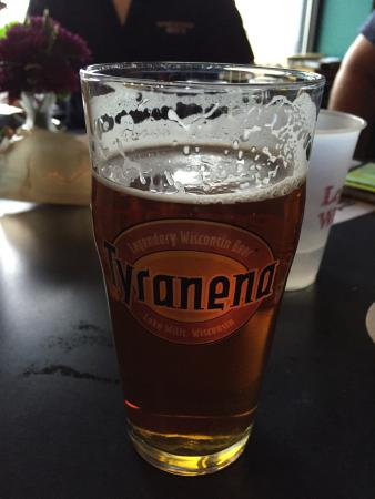 Lake Mills, WI: Tyranena Brewing Company