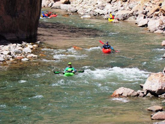 Royal Gorge Route Railroad: Kayaking is Popular