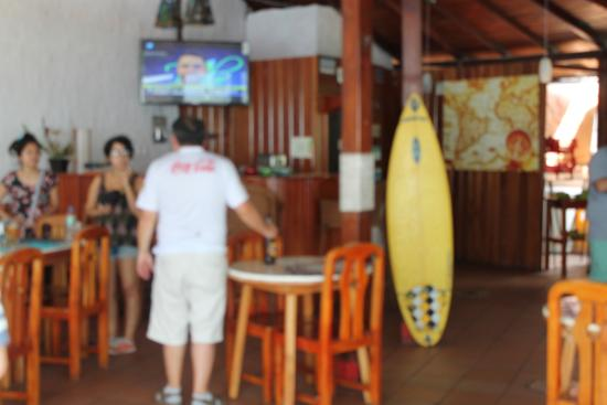 Hotel Miconia : Bar area on second floor