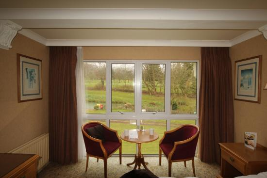 Charlton Kings Hotel: View from the room