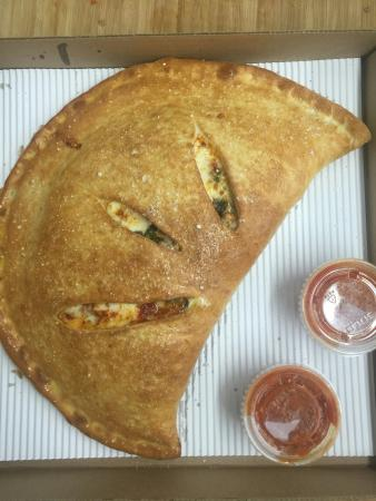 Delmar, MD: Try one of our strombolis. Fresh dough made daily.