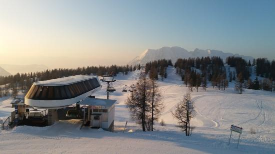 Tauplitz, Autriche : view from our room