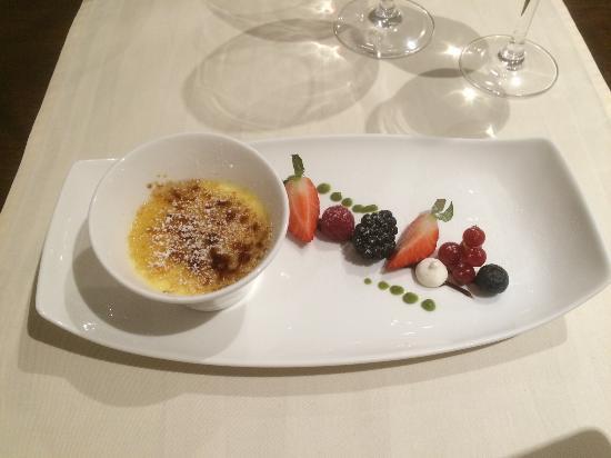 Caslano, Zwitserland: Creme Caramell