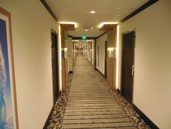 Bimini: Pasillos del hotel