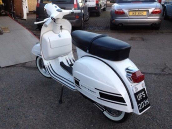 Coventry, UK: Something too see at The Scooter Shop