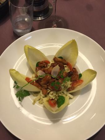 Logis Hostellerie Saint-Paul : Boa comida em vivy. Fomos jantar e fomos muito bem atendidos ! Preço médio a caro e comida gosto