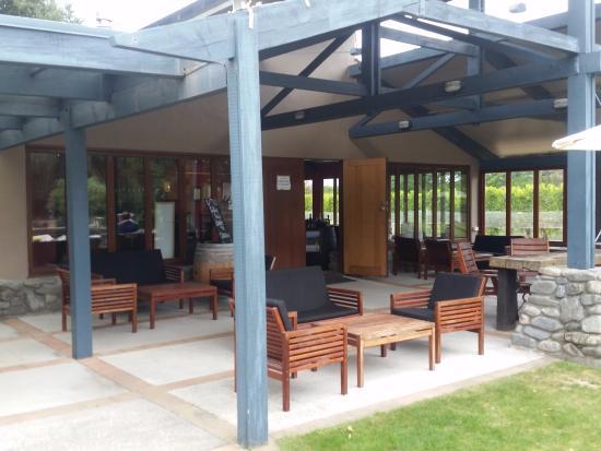 Ρένγουικ, Νέα Ζηλανδία: Outside seating