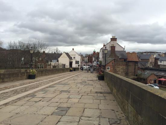 View Of The Elvet Bridge Which Crosses The River Wear Picture Of