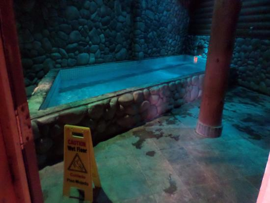 """The Lodge at Lolo Hot Springs: The """"Outer Pool"""" (hot pool)"""