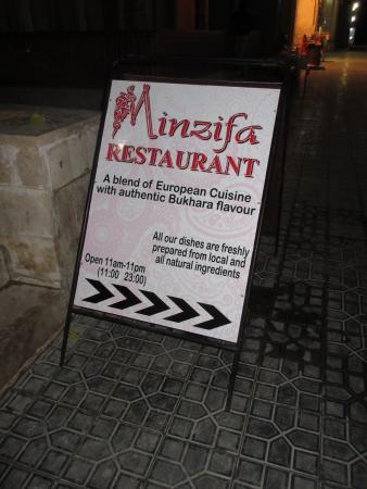 Minzifa: right this way