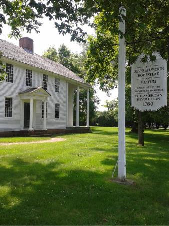 Windsor, CT: Oliver Ellsworth Homestead