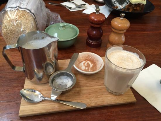 Say Grace Cafe & Larder: Chai Latte