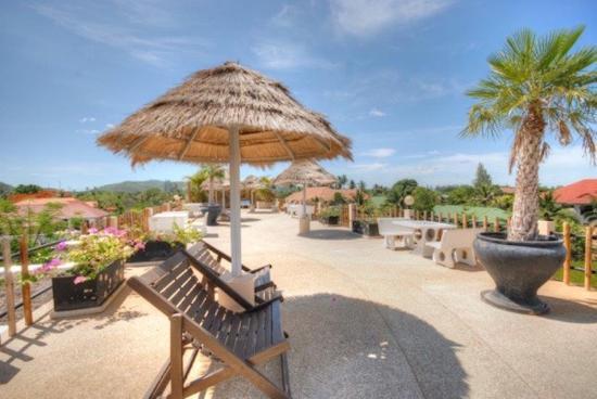Jaidee Resort: Roof terras