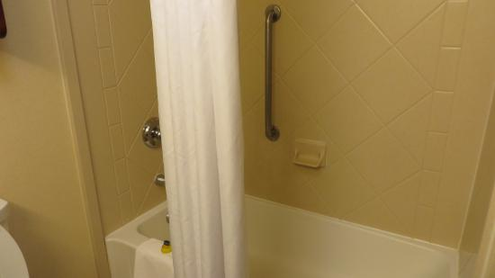 Hampton Inn & Suites Cincinnati Union Centre: Clean bathroom