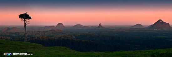 Glass house mountains Picture of Top Photos Russell TripAdvisor