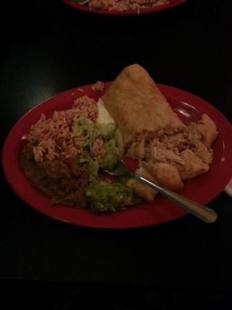 Baja Bean Co.: Chimichangas!