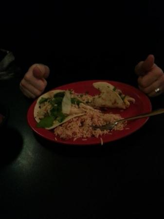 Baja Bean Co.: My husband's dish was off the charts good!