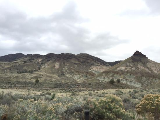 John Day, OR: view from Condon Paleontology Center (visitor's center)