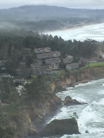 Inn at Otter Crest: Foul weather lookout