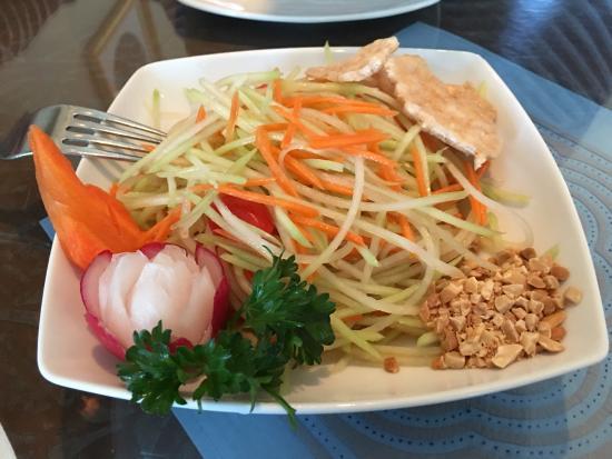 Thai Onzon : Papaya salad