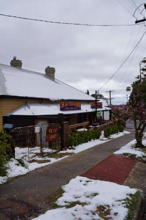 Mount Victoria, Austrália: If you want great food and from a very clean establishment with relaxed seating