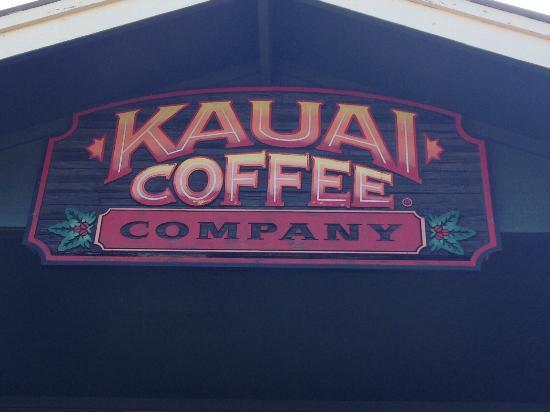 Kalaheo, Havaí: Sign above entrance