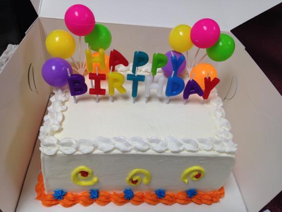 Peachy Happy Birthday Cake Picture Of Baskin Robbins Richmond Birthday Cards Printable Giouspongecafe Filternl