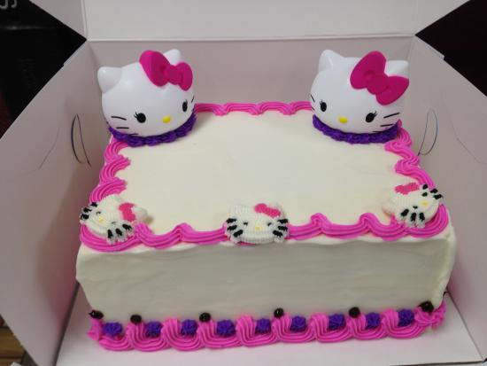 Hello Kitty Cake Picture Of Baskin Robbins Richmond Tripadvisor