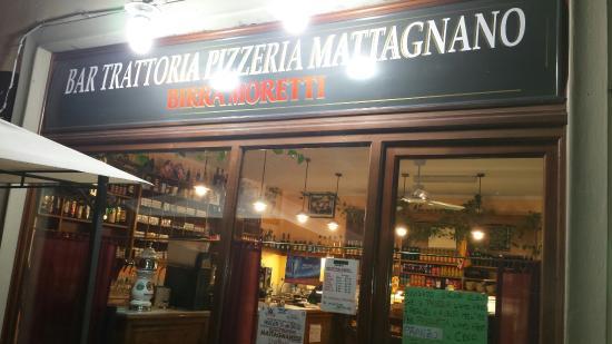 Vicchio, Italy: Esterno   menù