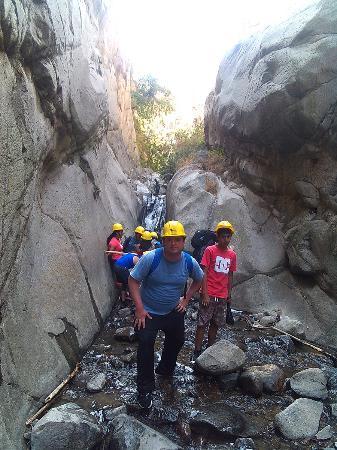 San Jeronimo de Surco, Peru: Canyoning en Songos