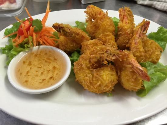 Menu Thai Restaurant: Angel prawns
