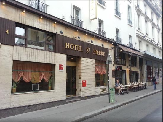 Hotel Saint Pierre: Entrée de l'hôtel