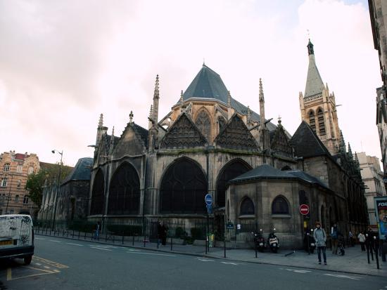 Hotel Saint Pierre : église saint séverin