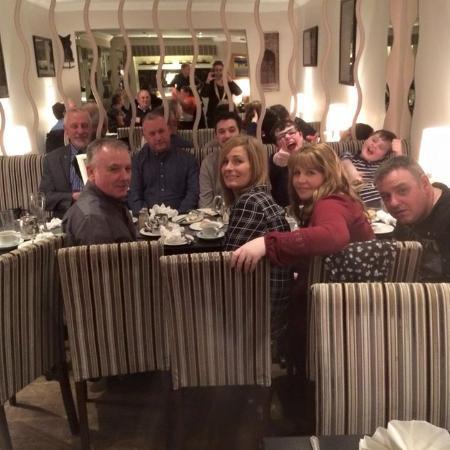Lovely family meal at Harrington's