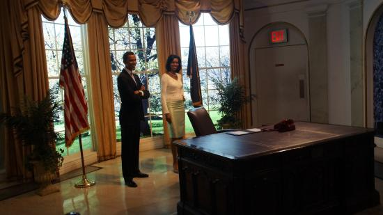 Le bureau ovale picture of madame tussauds new york new york city